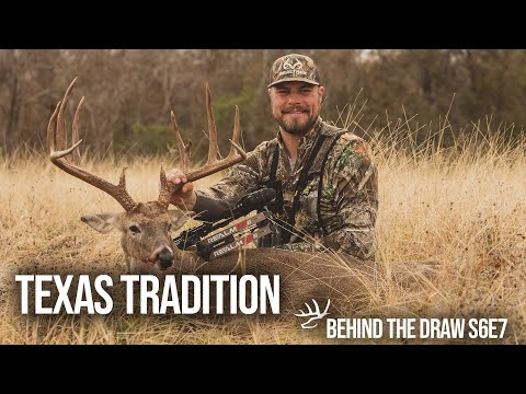 Incredible Texas Bowhunting At The Wexford Ranch. Behind The Draw S6E7 - Texas Tradition