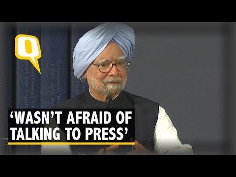 Wasn't Afraid of Talking to Press: Manmohan Singh's Dig at PM Modi | The Quint