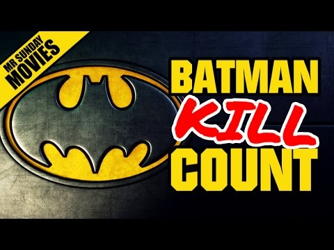 BATMAN Movie Kill Count Supercut