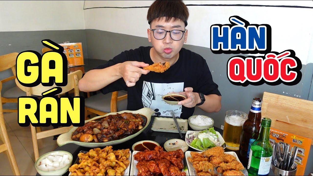 Vô tiệm gà rán ENGGO đánh chén 2 con gà to đùng    Ninh Eating ăn gì series