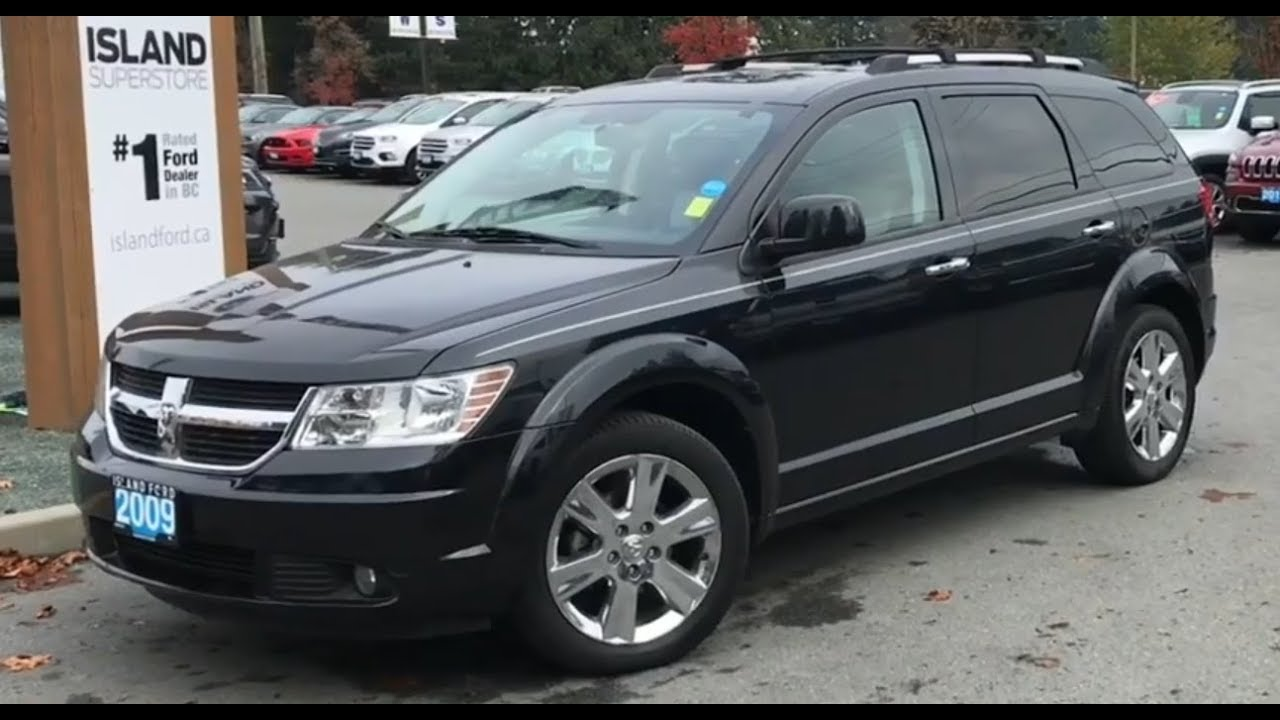 2009 Dodge Journey R T W Moonroof Leather Awd Review Island Ford Youtube
