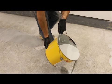 EASY | How to DIY Epoxy on Garage Floor Part 5: Applying the Epoxy | GOT2LEARN