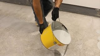 EASY | How to DIY Epoxy on Garage Floor Part 5: Applying the Epoxy | GOT2LEARN