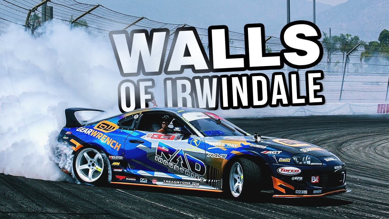 Formula Drift Drivers Describe 90mph Initiation At Irwindale