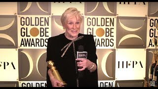 76th Golden Globes Winner Cam: Glenn Close