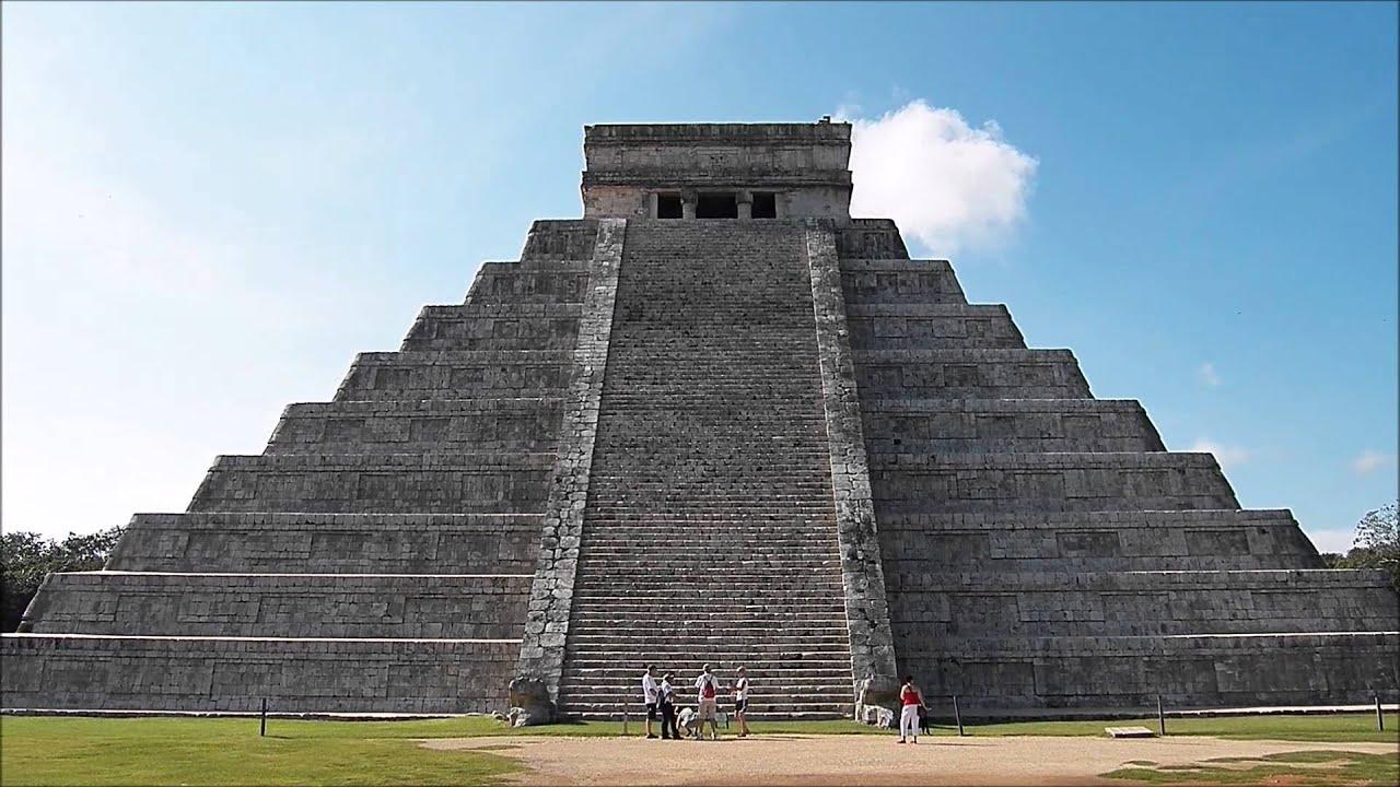 Piramida de la Chichén Itzá