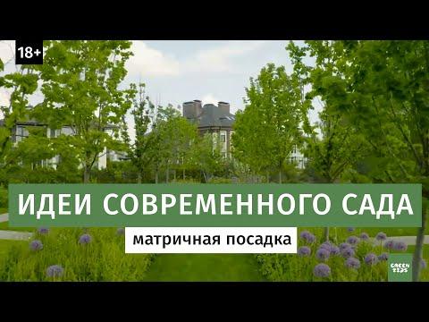Матричная посадка растений /Ландшафтный дизайн сада / 16+