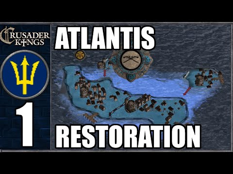 Post-Apocalyptic ATLANTIS - CK2: After The End - Old World #1 (Series A)