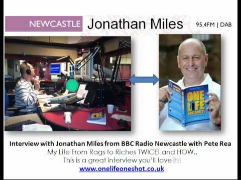 Radio Interview with Peter Rea - BBC Newcastle