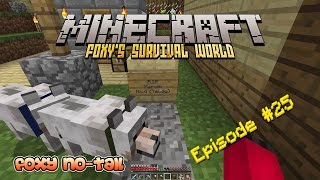 Minecraft Survival - How to build a Dog Kennel [25]