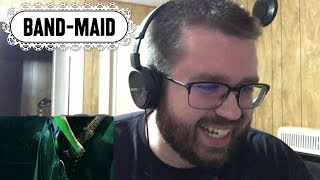 BAND-MAID - Onset (Unreleased Instrumental) Reaction!
