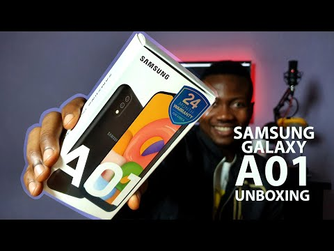 Samsung Galaxy A01 - Unboxing & Initial Impression (English)