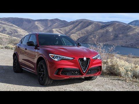 The Alfa Romeo Stelvio Quadrifoglio Is For Psychopaths