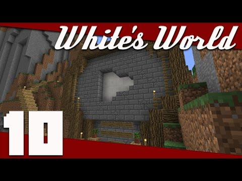 Minecraft: White's World - 010 - Subscriber Monument! | Minecraft 1.11 Survival Singleplayer