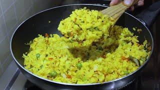 कम तेल में बनाए हेल्दी नास्ता   Healthy Breakfast Recipe   Poha Recipe   Kabitaskitchen