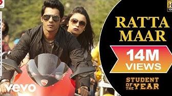 Ratta Maar Full Video - SOTY|Alia Bhatt,Sidharth Malhotra,Varun Dhawan|Shefali Alvares