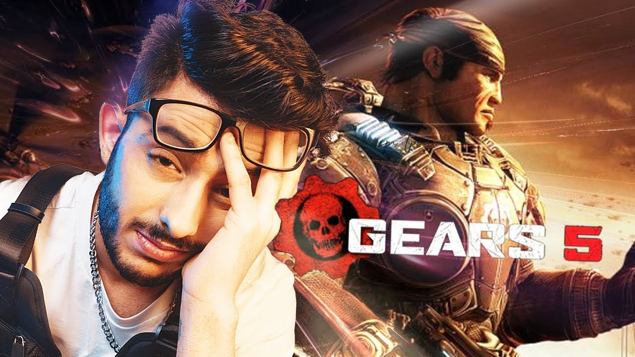 CARRYMINATI PLAYS GEARS OF WAR 5 | NO PROMOTIONS thumbnail