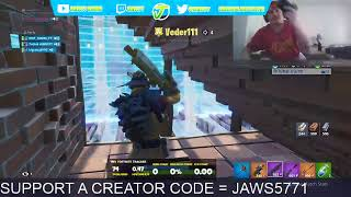 FORTNITE CUSTOMS USE CODE JAWS5771 IN THE ITEM SHOP