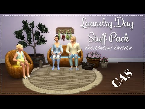 The Sims 4: Laundry Day Stuff Pack | CAS | áttekintés/kritika