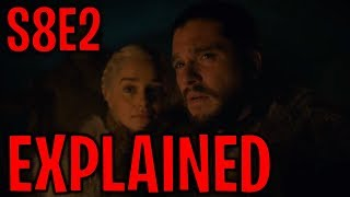 Season 8 Episode 2 Explained ! | Game of Thrones Season 8 Episode 2