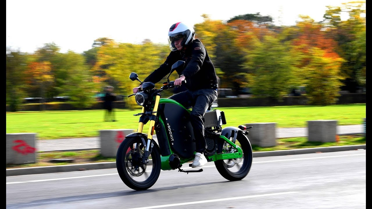 Pedal Powered E Motorcycle For A Cleaner Better World Youtube