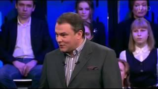 Политика с Петром Толстым   Падение рубля  как жить дальше  05 02 2014 © Первый канал