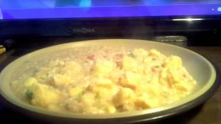 Mountain House Breakfast Skillet Review Hash Browns Eggs Pork Sausage Peppers Onions