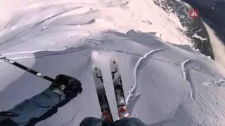 GoPro Winning run Loïc Collomb-Patton - Chamonix-Mont-Blanc - Swatch Freeride World Tour 2016