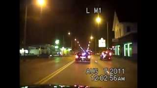 Police video from Aug. 7 shooting