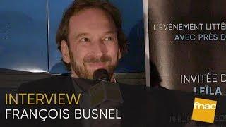 François Busnel, la revue America et ses lectures