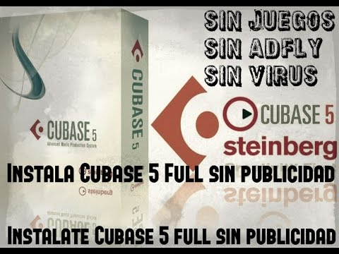 descargar cubase 5 gratis en español full