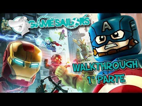 LEGO Marvel's Avengers - Walkthrough 1° parte Full HD ITA