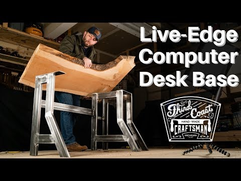 Steel Computer Desk Base | Welding & Metal Work How To