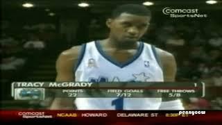 Tracy McGrady Hall of Fame Week:  50pts vs Washington Wizards (2002) thumbnail