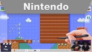 Nintendo Treehouse Live @ E3 2015 Day 3 Super Mario Maker
