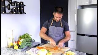 Techniques de coupe de légumes