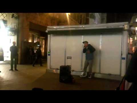 beatboxing oxford circus station