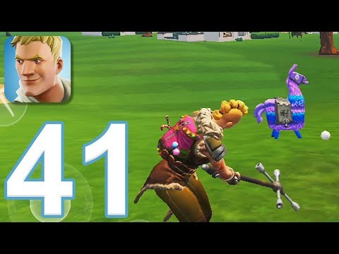 Fortnite - Gameplay Walkthrough Part 41 (iOS)