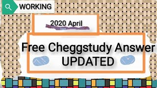 Unlock Chegg Answers
