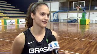 Seleção feminina de basquete do Brasil treina para o Sul-Americano 2018