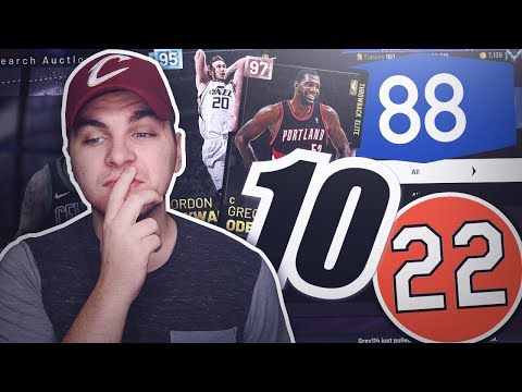 RANDOM NUMBER AUCTION HOUSE TEAM! NBA 2K19 MyTeam Squad Builder thumbnail
