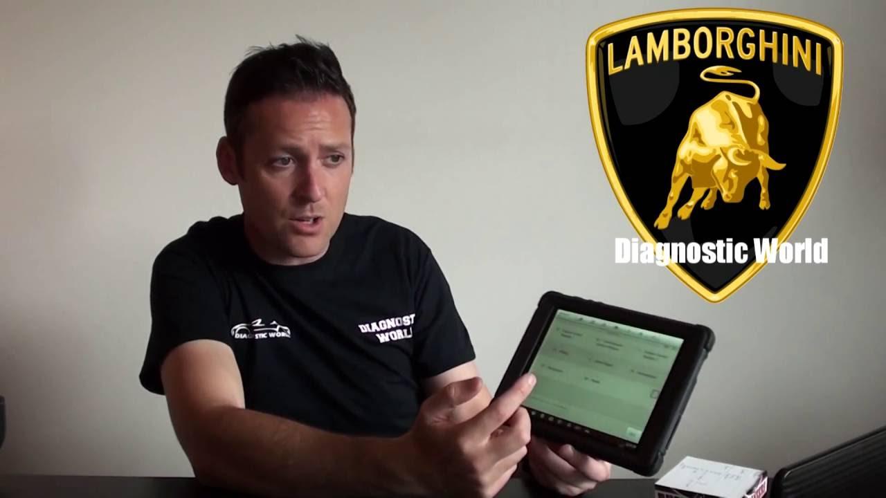 Lamborghini Abs Airbag Diagnostic Talk Diagnostic World Offices