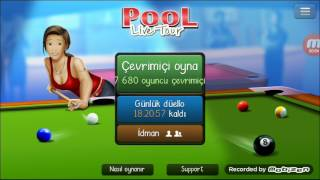 Pool Live Tour Android Hack TALHA ŞAHIN