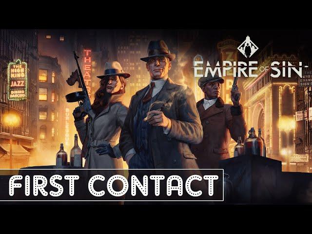 [FR] Empire of Sin - First Contact - Un parrain sans panache