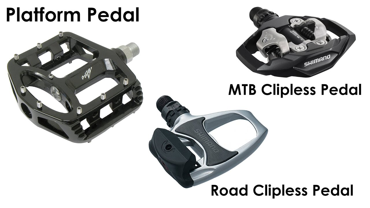 are clipless pedals better than platforms
