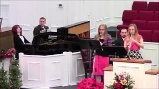 O Come, O Come, Emmanuel (clarinet/oboe sisters