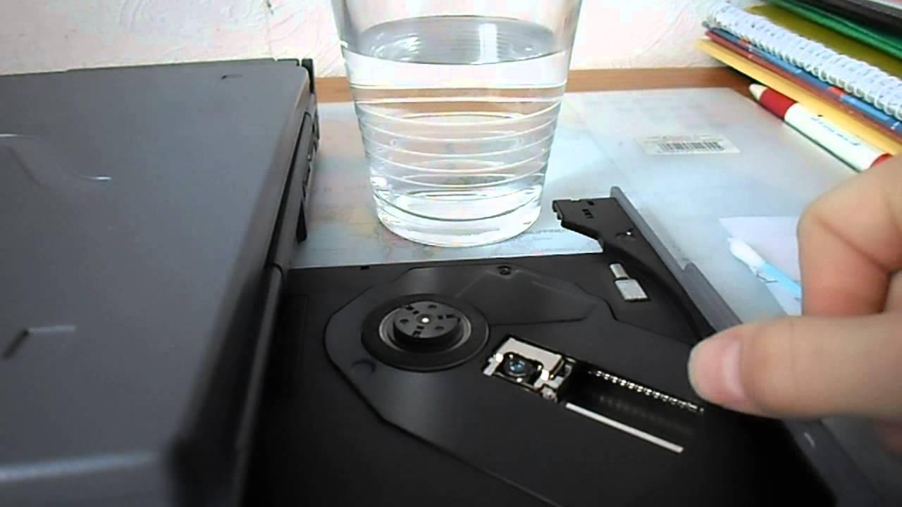 laser vom cd player oder laptop reinigen youtube. Black Bedroom Furniture Sets. Home Design Ideas