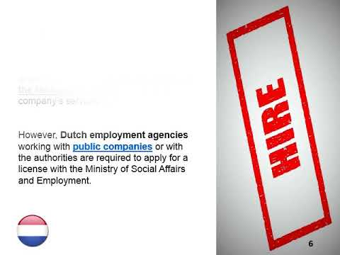 Open a Recruitment Company in the Netherlands
