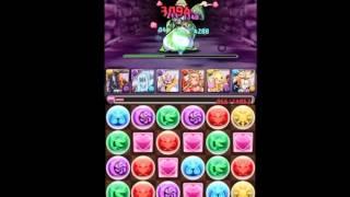 パズドラ【ヘラ降臨!】デスストローク無課金パーティによるノーコン thumbnail