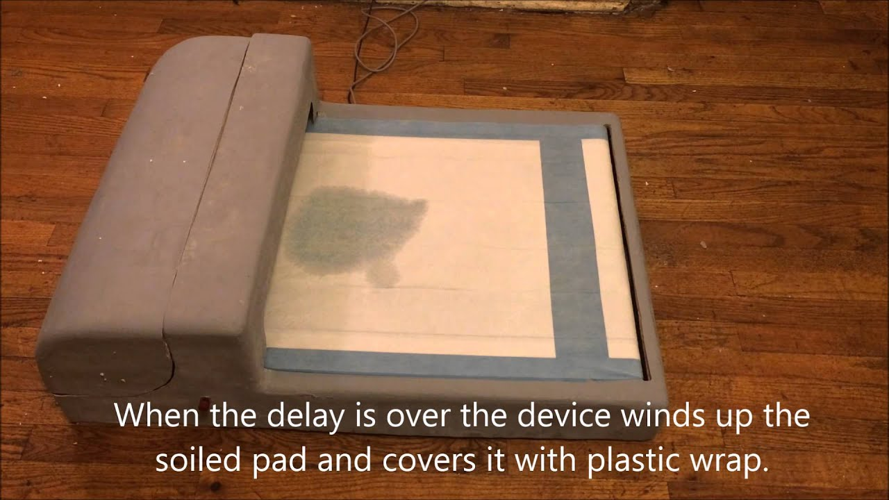Demonstration of Automated Wee Wee Pad Dispenser YouTube